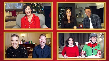 This Christmas, three celebrity couples will join Miranda from the comfort of their own homes for a virtual raucous night in of festive games and challenges. The celebrities are Strictly Come Dancing's Head Judge Shirley Ballas and her partner Danny Taylor, football pundit and presenter Jermaine Jenas and his wife Ellie, along with singer-songwriter and entertainer Robbie Williams and his drummer Karl Brazil. Viewers can also expect another mystery celebrity special guest who will be joining in on the fun and mayhem. An expert in the art of homemade mischief, Miranda Hart says:
