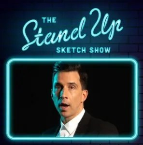 Russell Kane performs on the Stand-Up Sketch Show