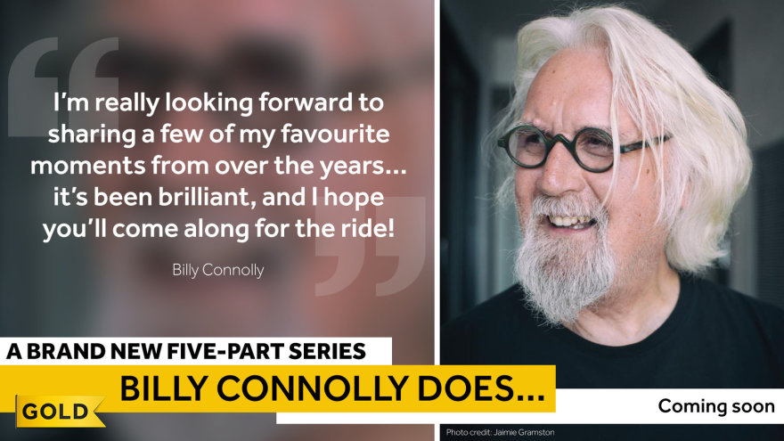 Billy Connolly Does... new series recounting his 50 year career