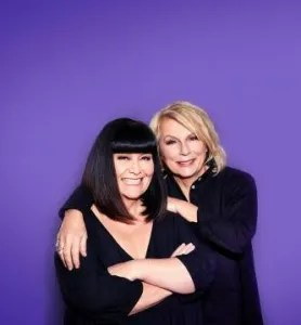 Dawn French and Jennifer Saunders host French and Saunders: Funny Women