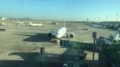 Pushback de un avión Boeing 777-200LR