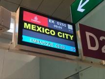 Puerta de embarque aeropuerto