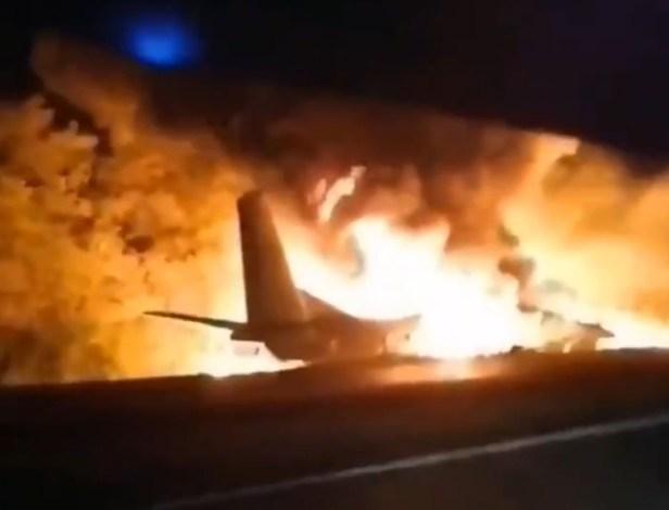 Accidente Antonov An-26 de la Fuerza Aérea de Ucrania