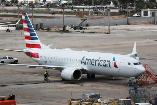 Boeing 737 MAX de American Airlines