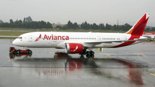 Avianca Boeing 787 pushback