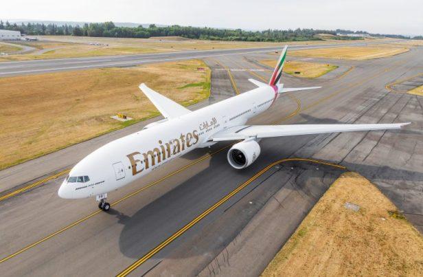 Boeing 777-300ER(77W) de Emirates