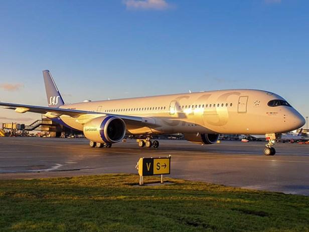 Airbus A350 de SAS