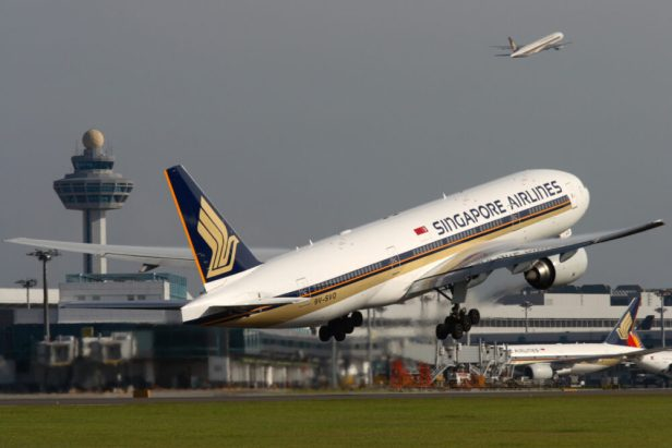 Boeing 777-200ER de Singaopre Airlines