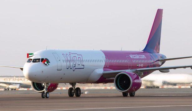 Airbus AA321neo Wizz Air Abu Dhabi