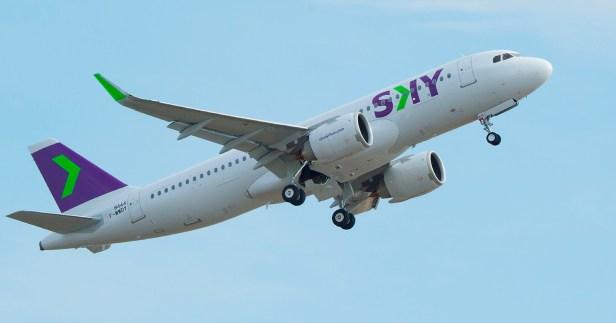 Airbus A320neo de SKY Airline