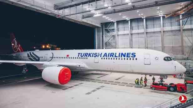Primer Airbus A350 de Turkish Airlines