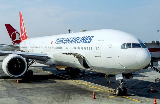 Boeing 777 de Turkish Airlines