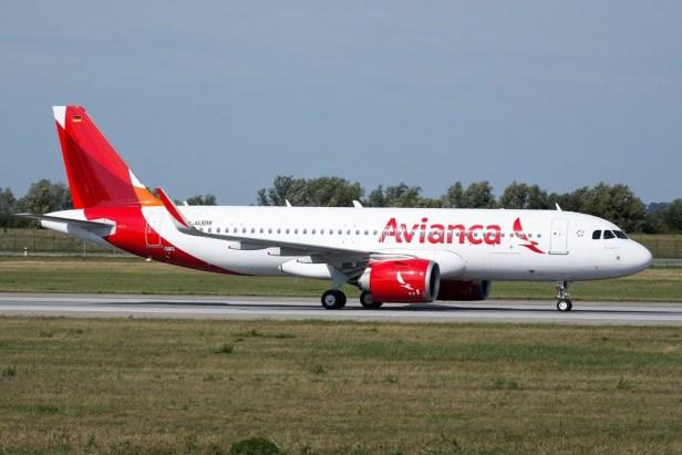 Airbus A320neo de Avianca