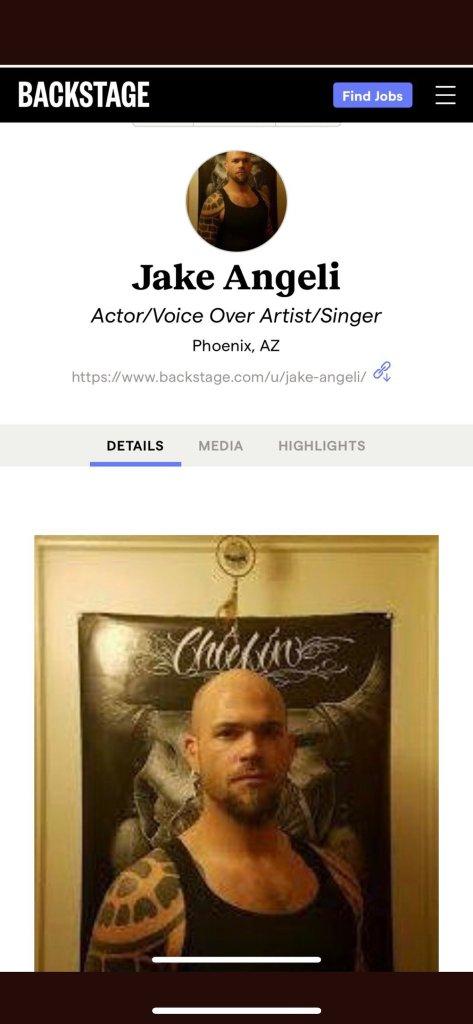 Jake (Jacob) Angeli is an actor