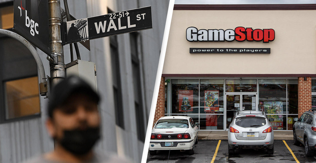 The 99% take on the .001% on Wall Street using Gamestop stock.
