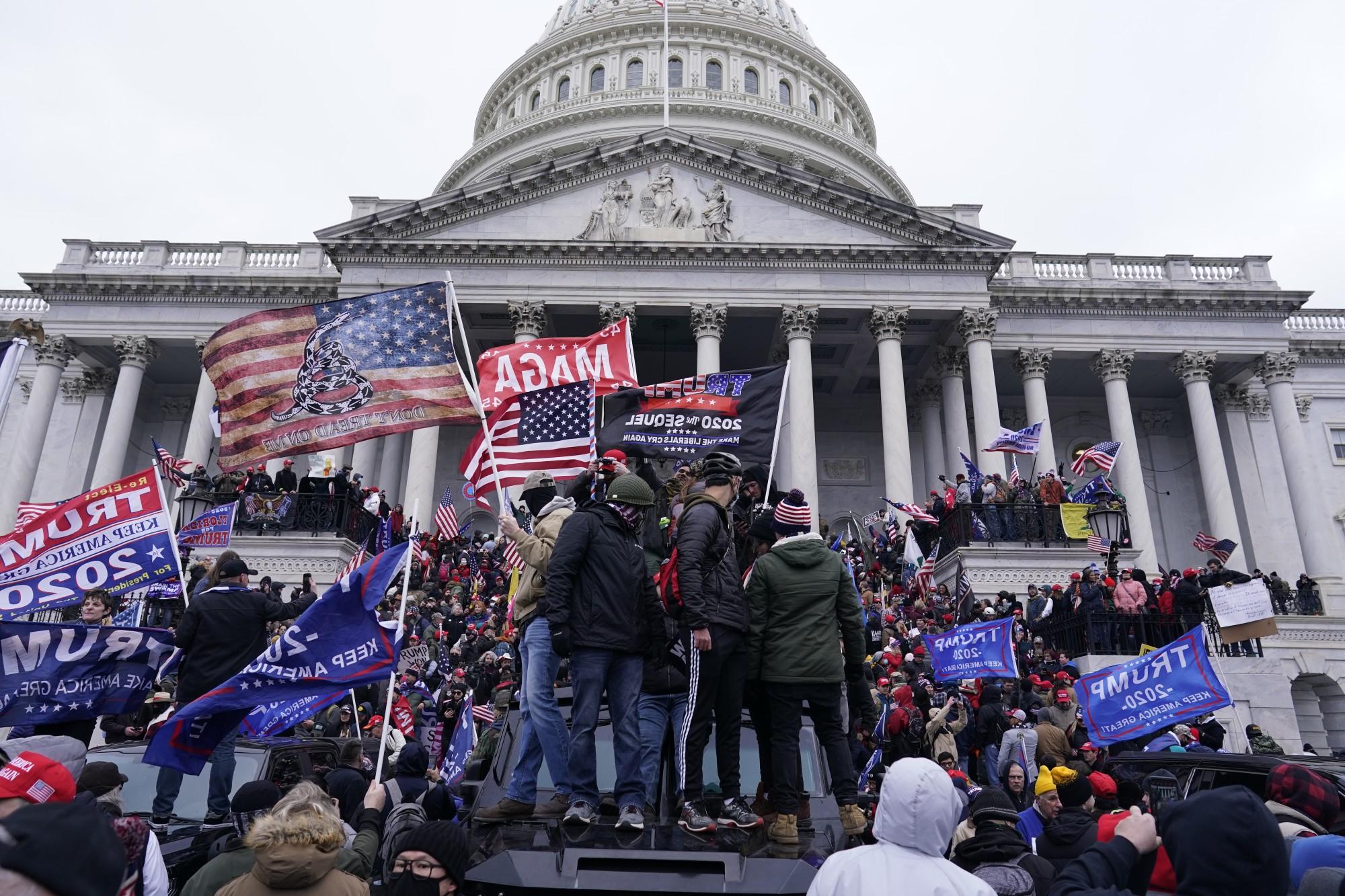 False Flag in DC to demonize Patriots