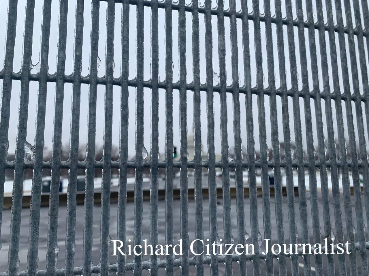 White House behind bars