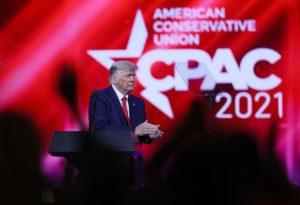 President Trump at CPAC 2021