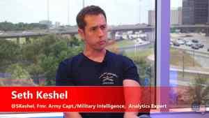 Former military intelligence officer Captain Seth Keshel