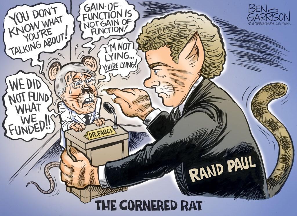 THE LIAR FAUCI GETS CAUGHT BY SENATOR RAND PAUL