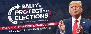 'Rally To Protect Our Elections' in Phoenix, AZ featuring President Donald Trump