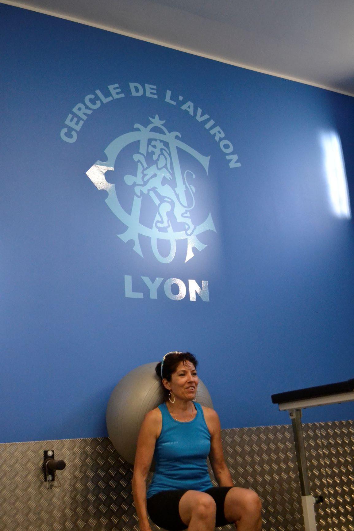 Cercle Aviron Lyon pratique en salle