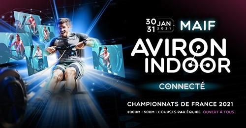 Cercle Aviron Lyon Championnats France Indoor