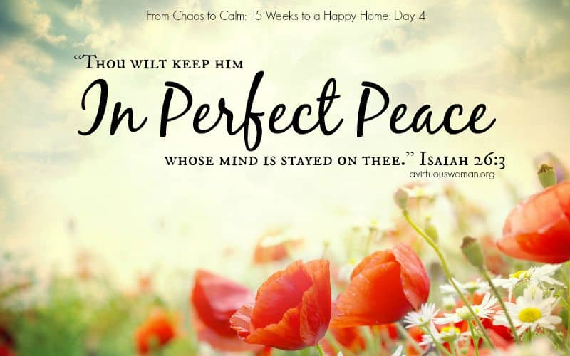 in perfect peace day
