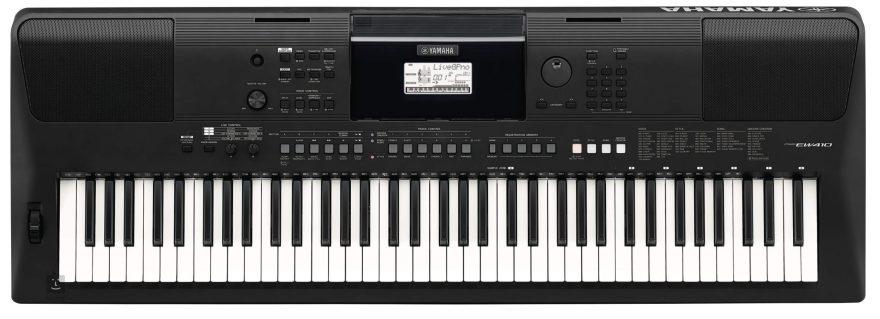 Piano YamahaPSR-EW410