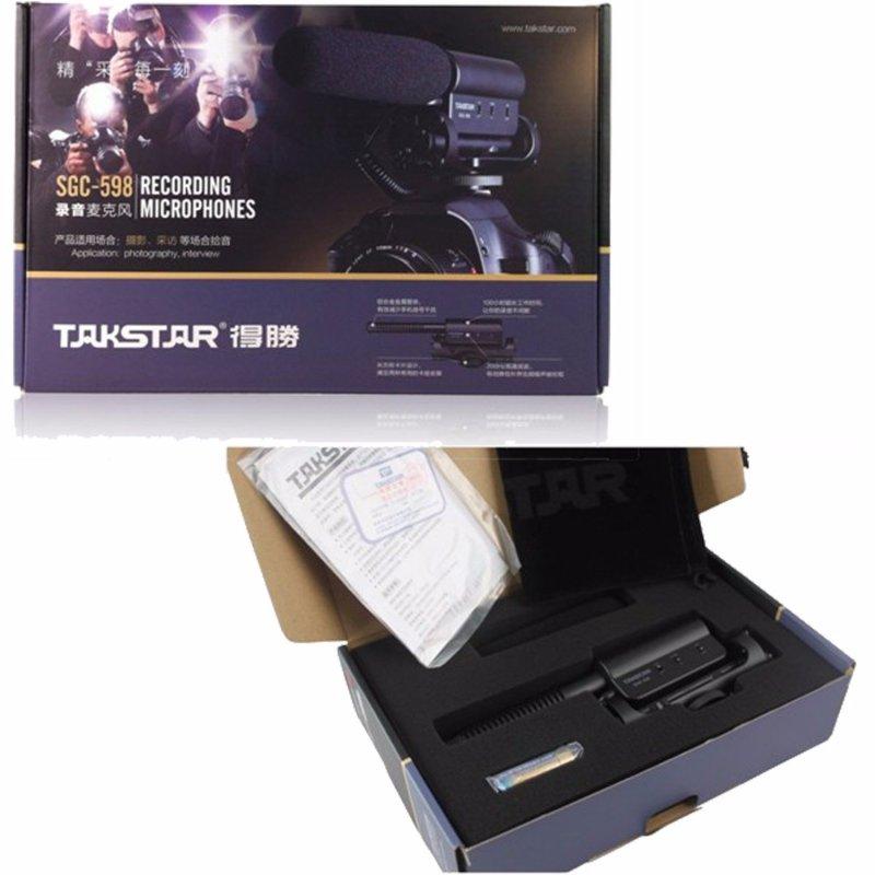takstar sgc 598 microphone gun pas cher pour youtube