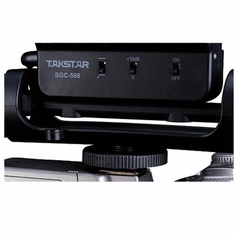 reglage decibel et test audio du micro takstar sgc 598