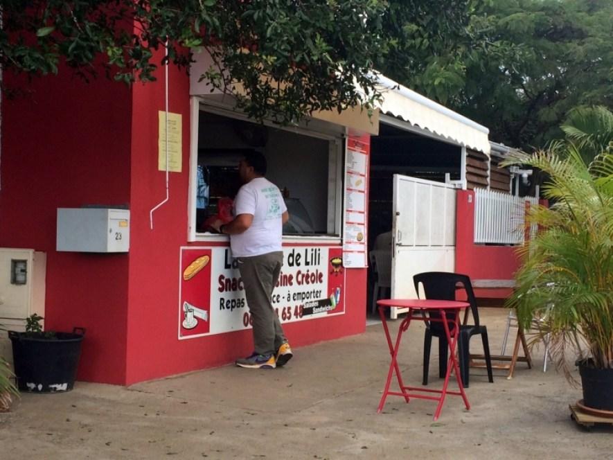 Kabane de Lili, cuisine créole