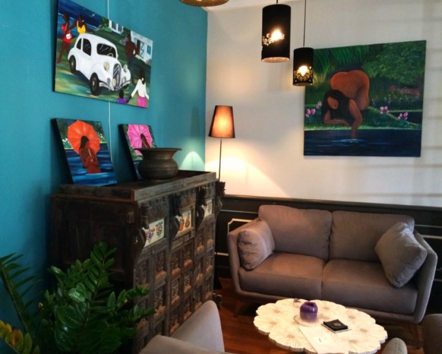 Villa Angélique salon 97400 Saint-denis Bonne adresse restaurant