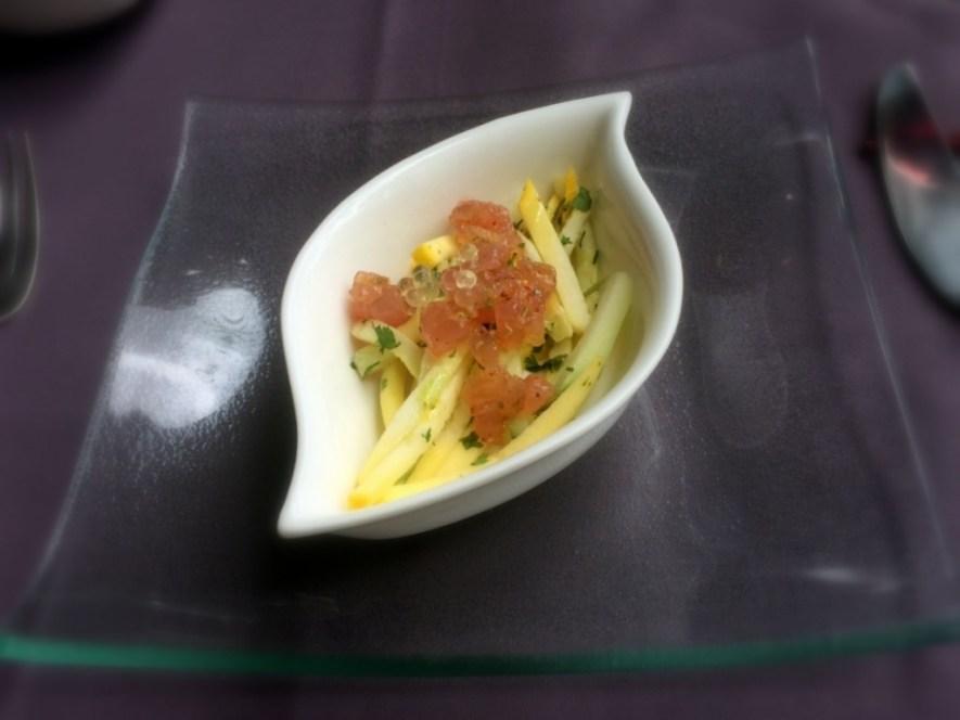 Restaurant Gastronomique la Réunion 974 La Case Pitey Amuse Bouche