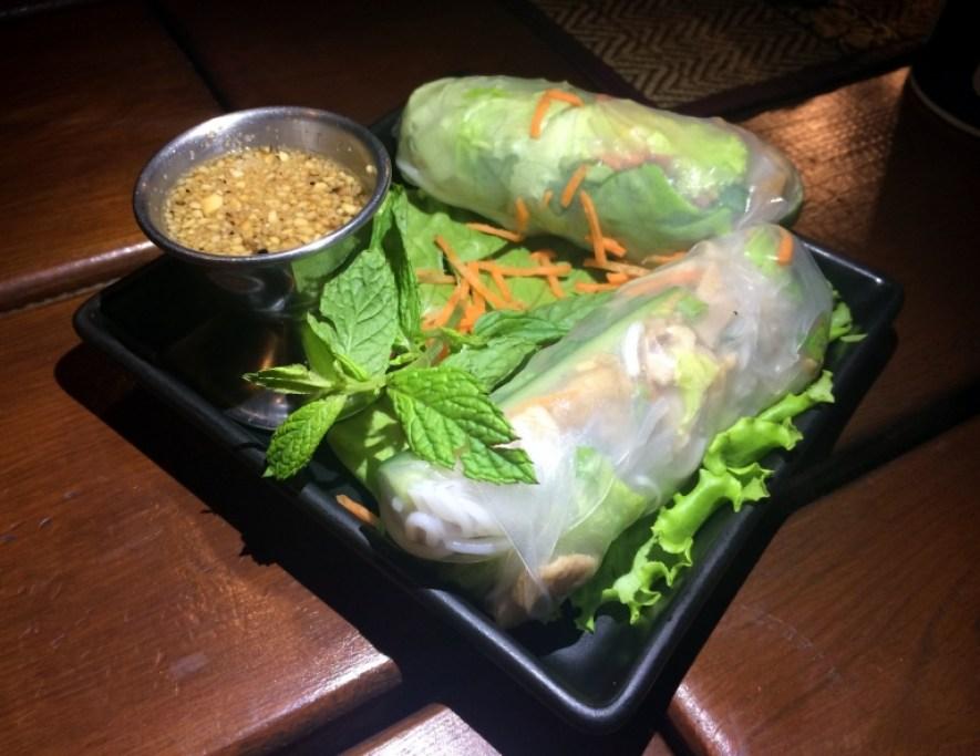 thai run bonne adresse restaurant thaï la saline rouleaux de printemps