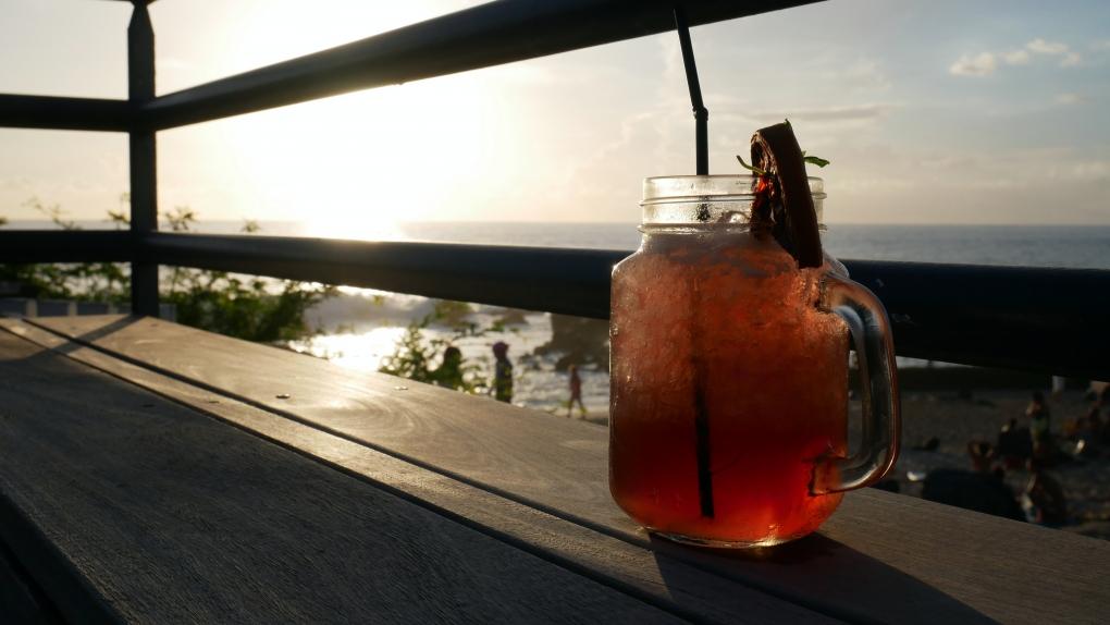 Coucher de soleil la reunion hotel boucan canot 974 cocktail