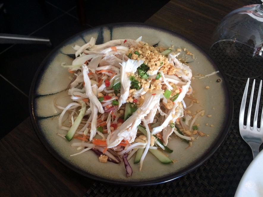 BOnne adresse restaurant Vietnamiem la reunion 974 jade d or salade viet