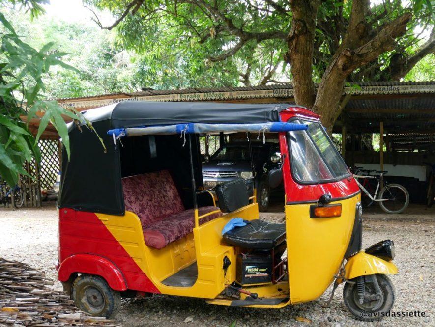 voyage ile aux nattes sainte-marie transport tuktuk