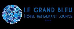 logo hotel le grand bleu saint gilles reunion