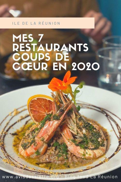 meilleurs restaurant la reunion 2020
