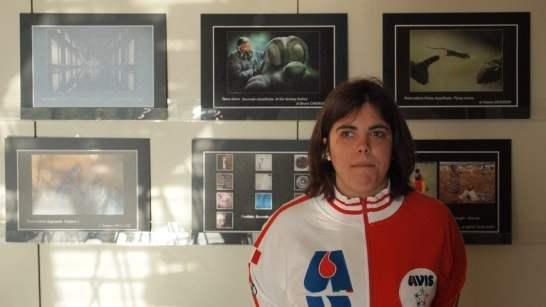 Carlotta Faleschini, all'AVIS di Forlì per il SCN