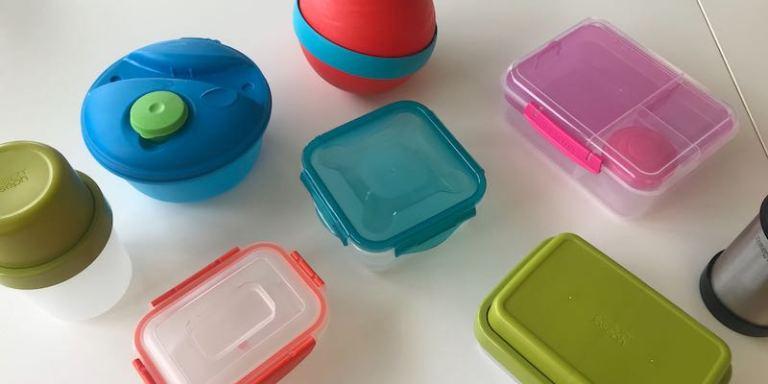 tapperware per il pranzo, basta plastica usa e getta