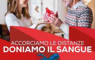 Natale2020 avis Accorciamo le distanze doniamo sangue