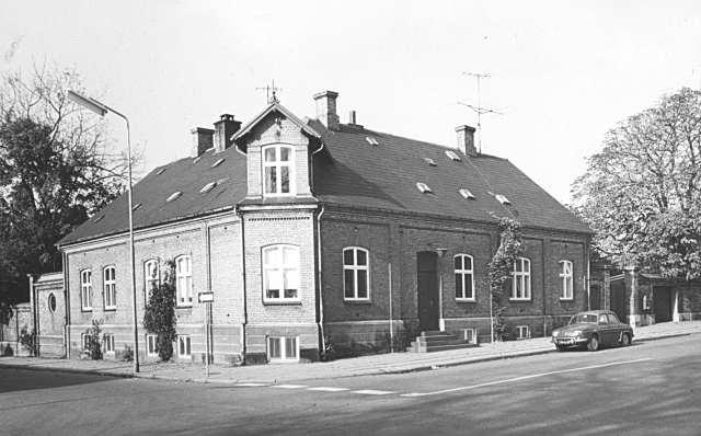 Blochs direktørbolig Kongensgade 38 fotograferet i 1964 (Foto: Lokalhistorisk Arkiv)