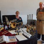 Instrumentmager Aage Skou og frue