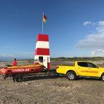 Livreddertårn, bil og båd