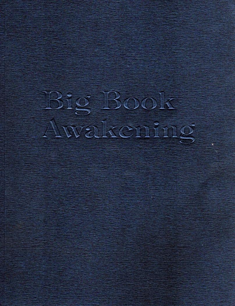 Alcoholics Anonymous Big Book Awakening 12 Step Workbook