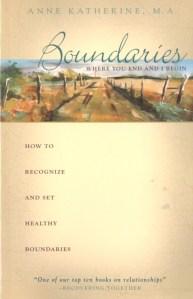 Boundaries by Anne Katherine
