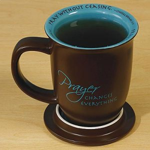 Prayer Changes Everything Mug and Coaster Set