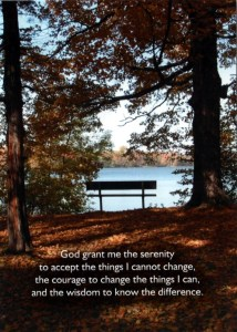 Serenity Prayer Thank You Card